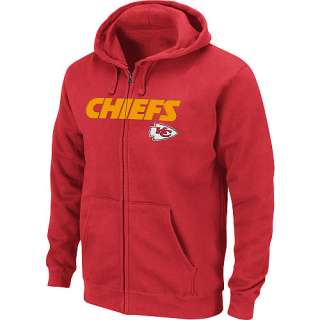 Kansas City Chiefs Big & Tall Classic Heavyweight Full Zip Hooded
