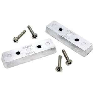 Trim Tab Zinc Anode Kit (2 Per Pack): Sports & Outdoors