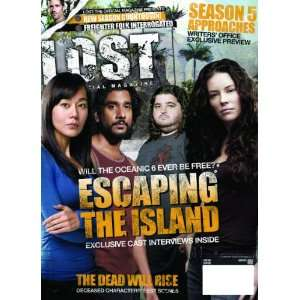 Lost Official Magazine #20 Newsstand Cover Toys & Games