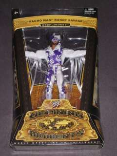 WWE DEFINING MOMENTS MACHO MAN RANDY SAVAGE FIGURE NEW