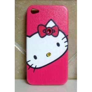 HELLO KITTY IPHONE CASE IPHONE 4G CASE WITH SWAROVSKI
