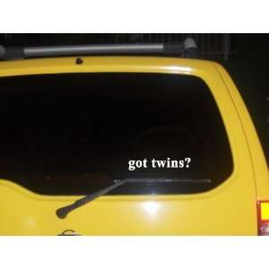 got twins? Funny decal sticker Brand New