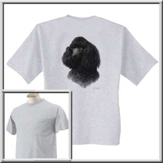 Poodle Dog Shirt S,M,L,XL,2X,3X,4X,5X Miniature Mini Toy Breed