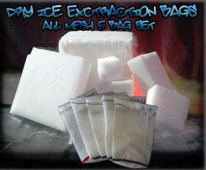 All MESH Dry ICE Hash Dry Sieve concentrate Bags Ice Extractor 5
