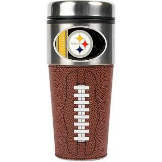 Drinkware Great American Pittsburgh Steelers 16 oz. Game Ball Travel