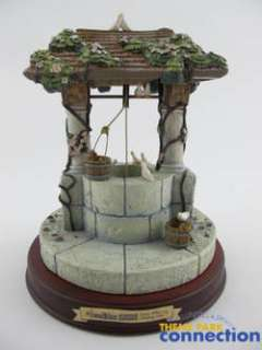 Disney WDCC Snow White & Seven Dwarfs WISHING WELL Enchanted Places