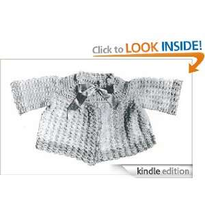 1317 LA PETIT SACQUE VINTAGE CROCHET PATTERN (Single Patterns