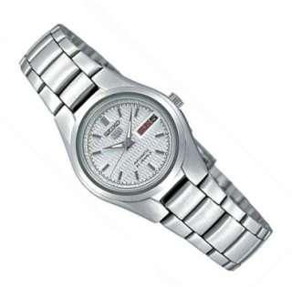 SEIKO 5 automatic Damen Uhr steel ladies watch SYMC07K1