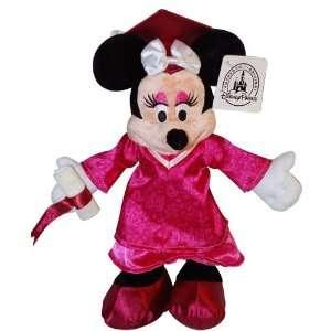 Disney 2012 Graduation Minnie Mouse Plush   7 Toys