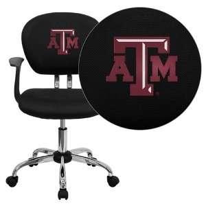 Flash Furniture Texas A&M University Aggies Embroidered Black Mesh