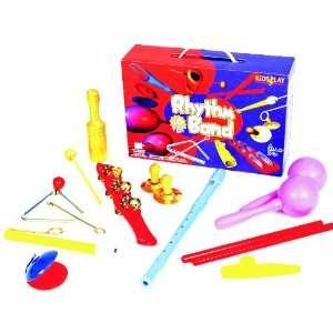 Rhythm Band Kidsplay 10 Piece Rhythm Set Toys & Games