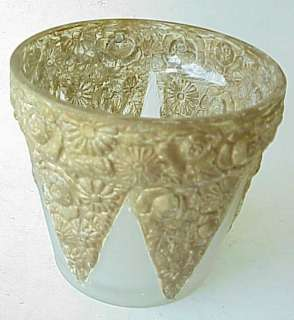Ugly Antique Glass Flower Pot Planter