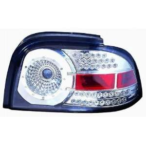 Depo 331 1973PXUSV Ford Mustang Chrome LED Tail Light