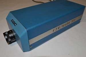 Vintage VTR/Mark XII Camera GBC CCTV Corp.