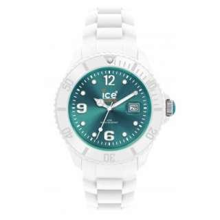 Ice Watch SI.WT.S.S.10 Sili White Turquoise Small Quarzuhr NEU