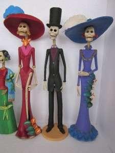 11 CATRINAS mexican folk art day of the dead catrina