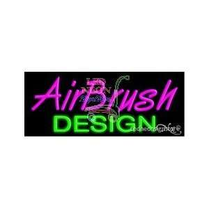 Airbrush Design Neon Sign: Office Products