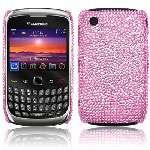 Carcasa tipo diamantes para Blackberry Curve 8520 y 9300 3G modelo