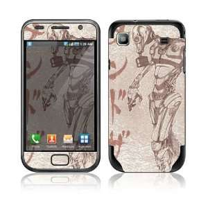 Toxic Birth Decorative Skin Cover Decal Sticker for Samsung Galaxy S