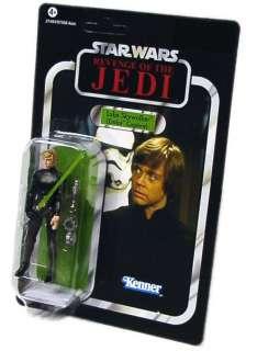 Hier bieten wir die verpackte Star Wars Figur Luke Skywalker, Endor