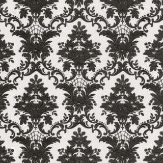 Neo BAROCK Tapete CHARISMA Vlies 03872 60 schwarz weiß