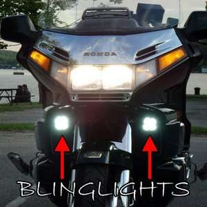 Honda Gold Wing Goldwing GL1500 4300K LED Driving Lights Fog Lamps