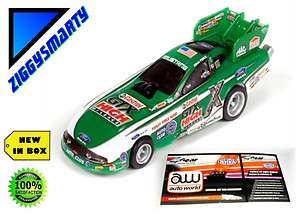 Auto World 4 Gear NHRA Mustang John Force AW HO Scale Slot Car Release
