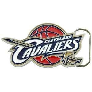 NBA Cleveland Cavaliers Pewter Team Logo Belt Buckle