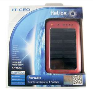 Powerful Solar Charger SC700U 5600mAh for  GPS iPhone iPod USB R