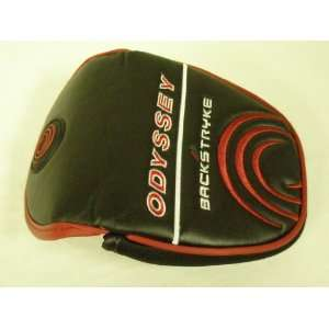 Odyssey Backstryke Putter Headcover Black/Red Large Mallet
