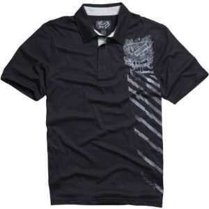Fox Racing Ride or Die Polo Shirt   Medium/Black