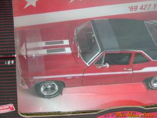 1969 Yenko 427 Nova 1/18 Scale Die Cast Metal Limited Edition