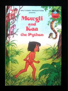 Mowgli and Kaa the Python Wonderful World of Reading HC