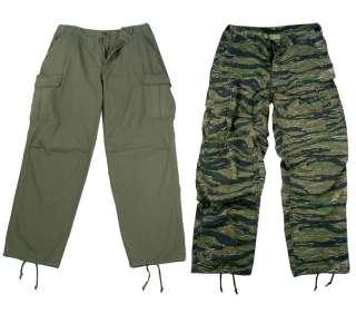 Vintage Vietnam Era Army 6 Pocket Cargo Fatigue Pants