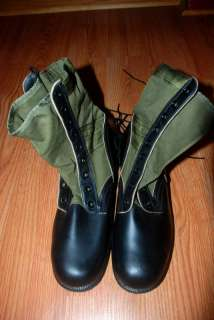 NWT 1966 US ARMY VIETNAM WAR ERA JUNGLE BOOTS  SIZE 11N