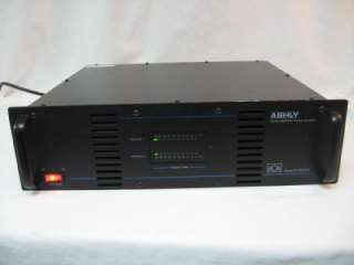 Ashly Stereo MOS FET 2000M 2 Channel Power Amplifier FS14728
