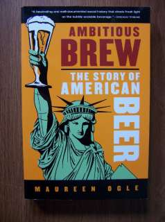 AMERICAN BEER & BREWERIES   AMAZING ILLUSTRATED HISTORY 9780156033596