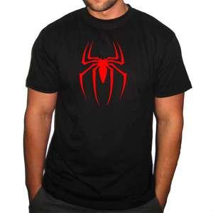 SPIDERMAN RETRO SUPER HERO Movie Marvel Logo T shirt Mens Ladies