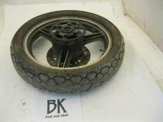 1980 Kawasaki Gpz 550 Used Rear Tire Wheel Rim Sprocket