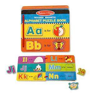 Melissa and Doug #4590 Alphabet Puzzle Book 000772045902