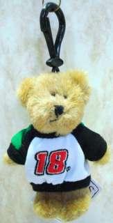 BOYDS BEARS Bobby Labonte Set NASCAR #18 Ornament PLUSH