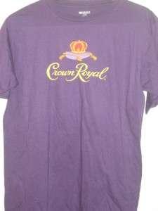 NASCAR #17 Matt Kenseth Crown Royal Logo Mens Purple Shirt Medium