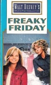 Freaky Friday 1977 JODIE FOSTER BARBARA HARRIS DISNEY