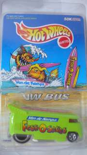1997 Hotwheels vw drag bus Fish O Saurs Van de Kamps