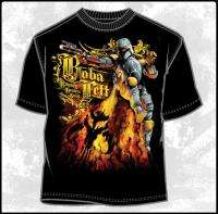 Star Wars Boba Fett, Bounty Hunters Guild T Shirt, NEW
