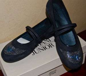 NEW Designer ARMANI Mary Jane Shoes Italy Boutique 9
