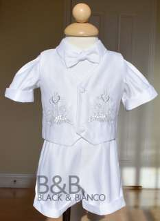 Baby Boy Communion Christening Baptism Outfit Suit size 0 1 2 3 4 (0