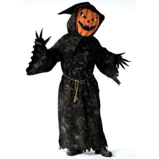 Pumpkin Bobble Head Adult Mens Halloween Costumes