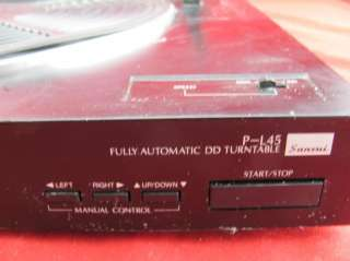 You are viewing a used Sansui P L45 Fully Automatic DD Turntable