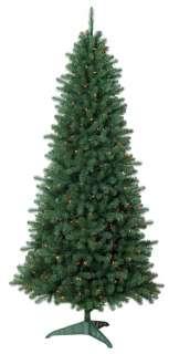FT COLORADO PINE CHRISTMAS TREE with TRADITONAL MULTI COLORED LIGHTS